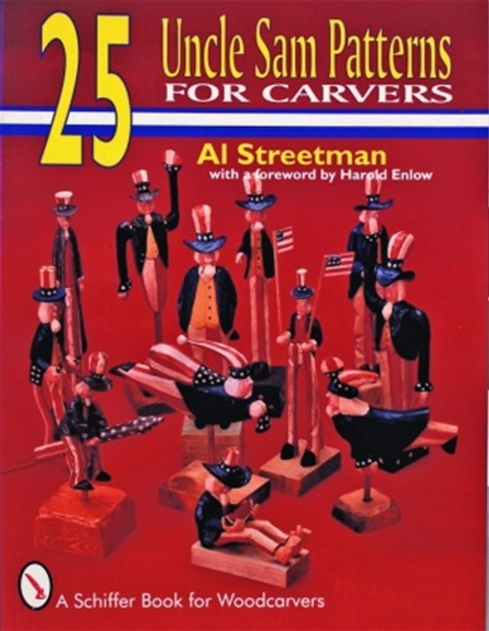 25 Uncle Sam Patterns for Carvers