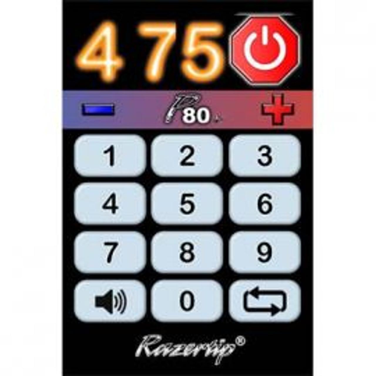 Keypad of the Razertip Pyrography P80X Expansion Module