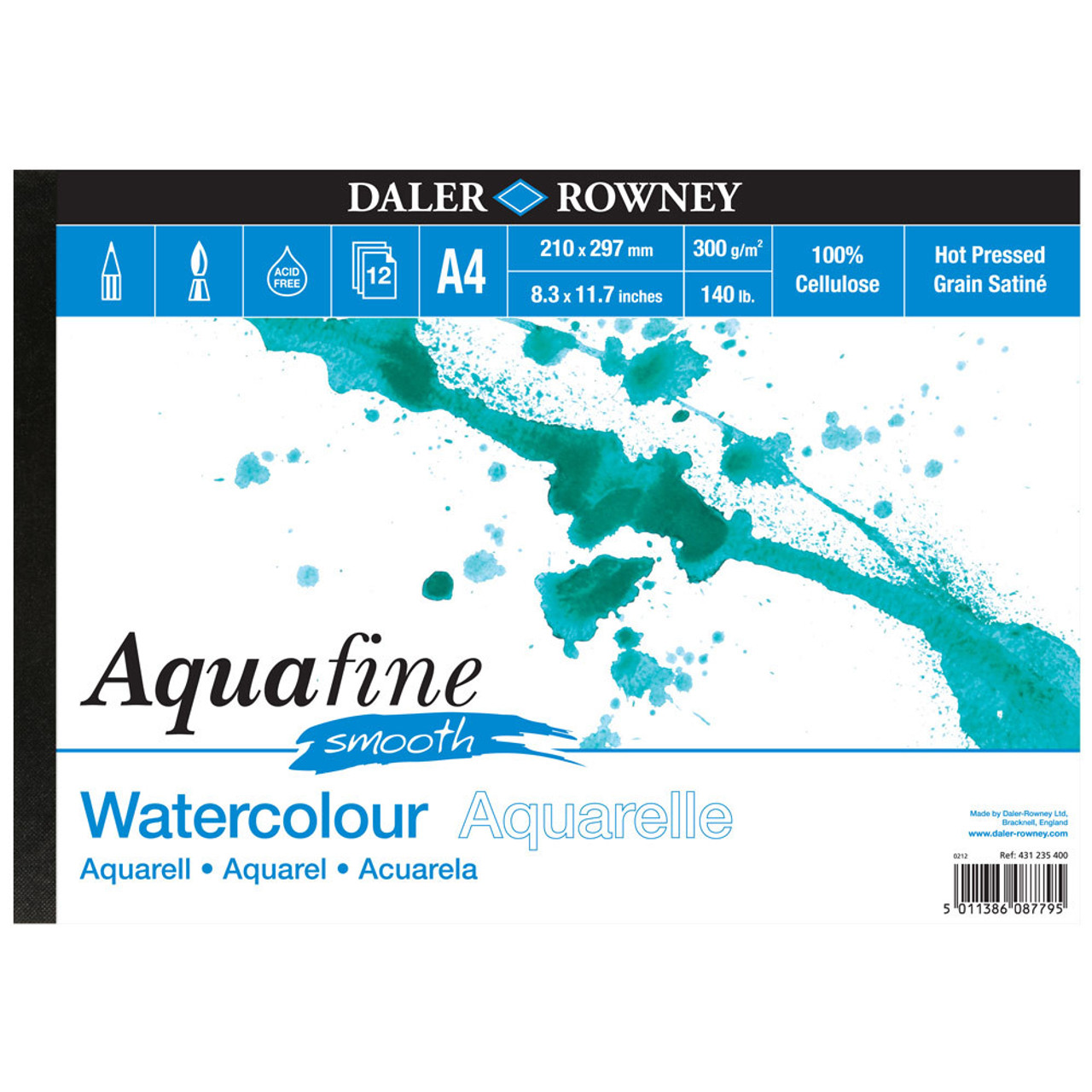 Aquafine Watercolour Paper Hot Pressed