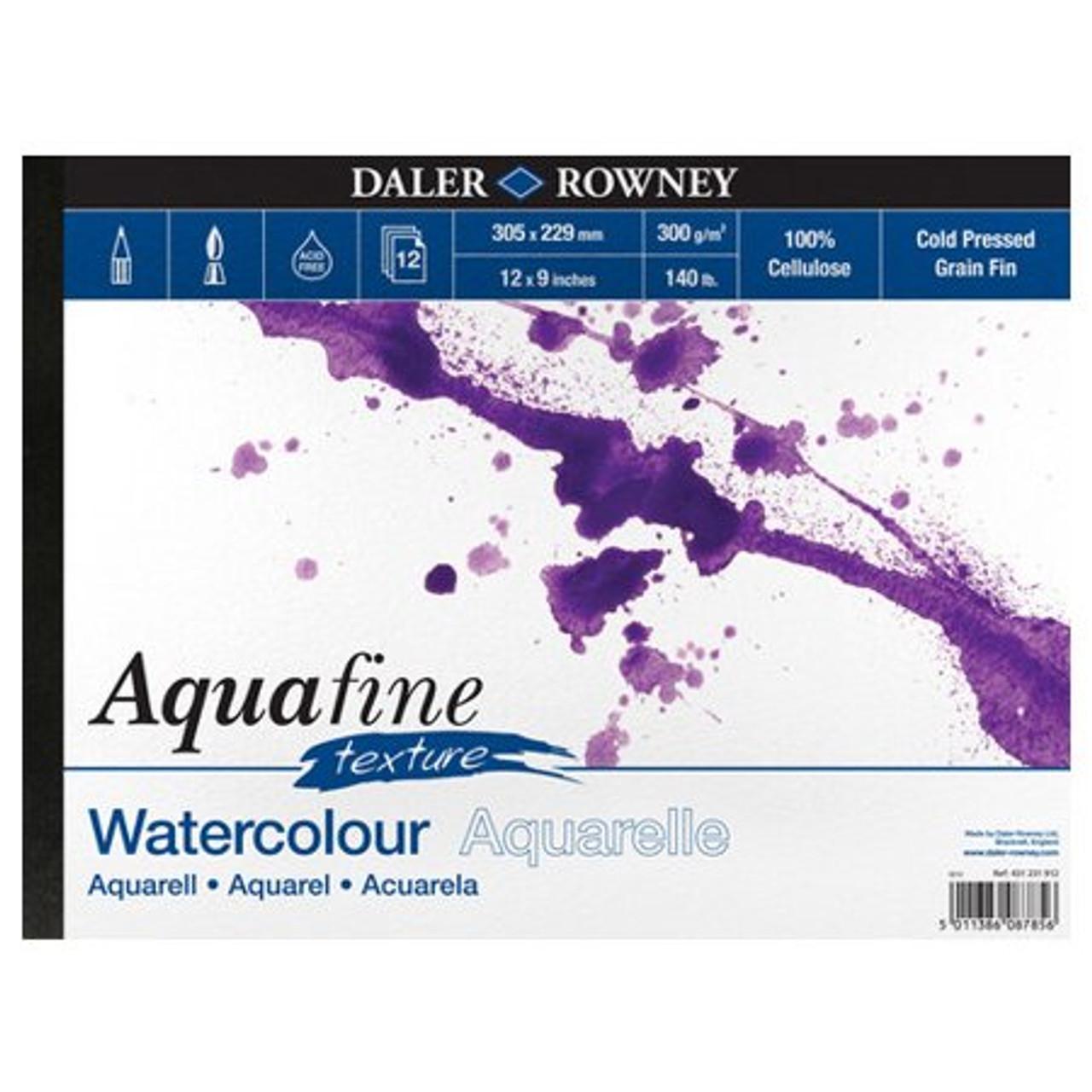 Aquafine Watercolour Paper Cold Pressed.
