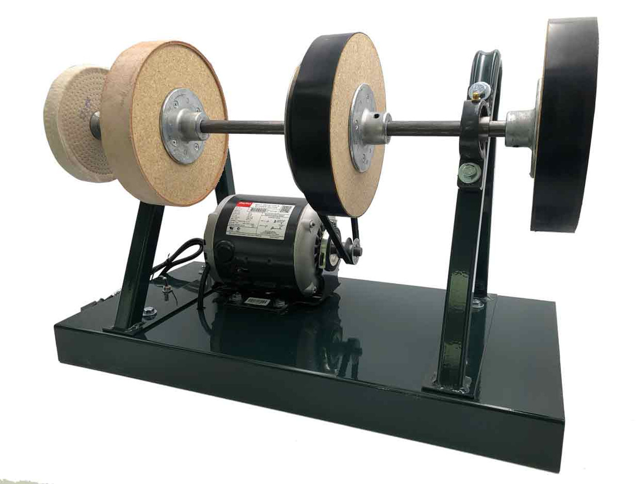 Burke Sharpener with a front and slightly left side view.