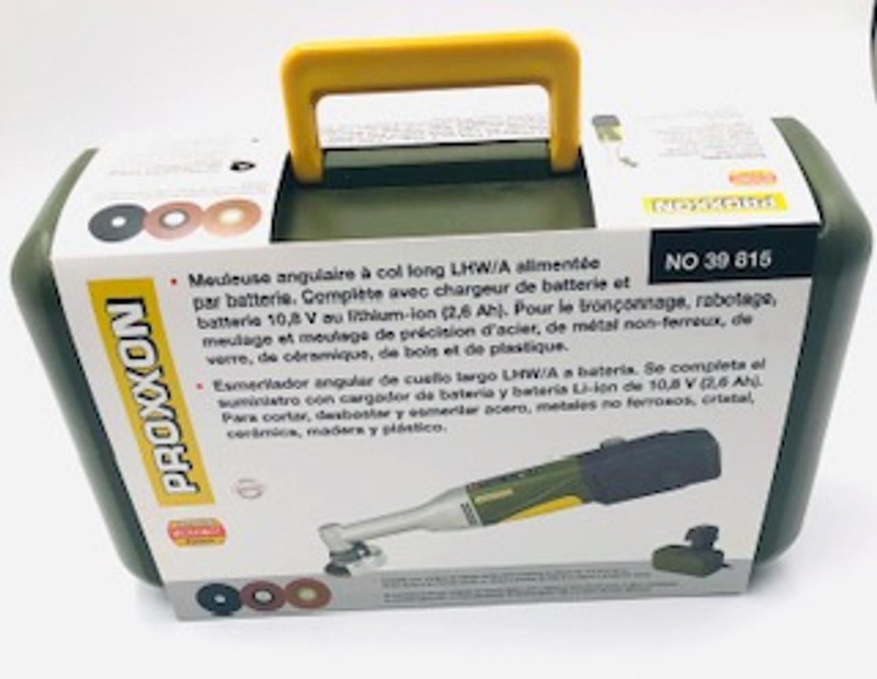 Proxxon  Battery-powered Long Neck Angle Grinder