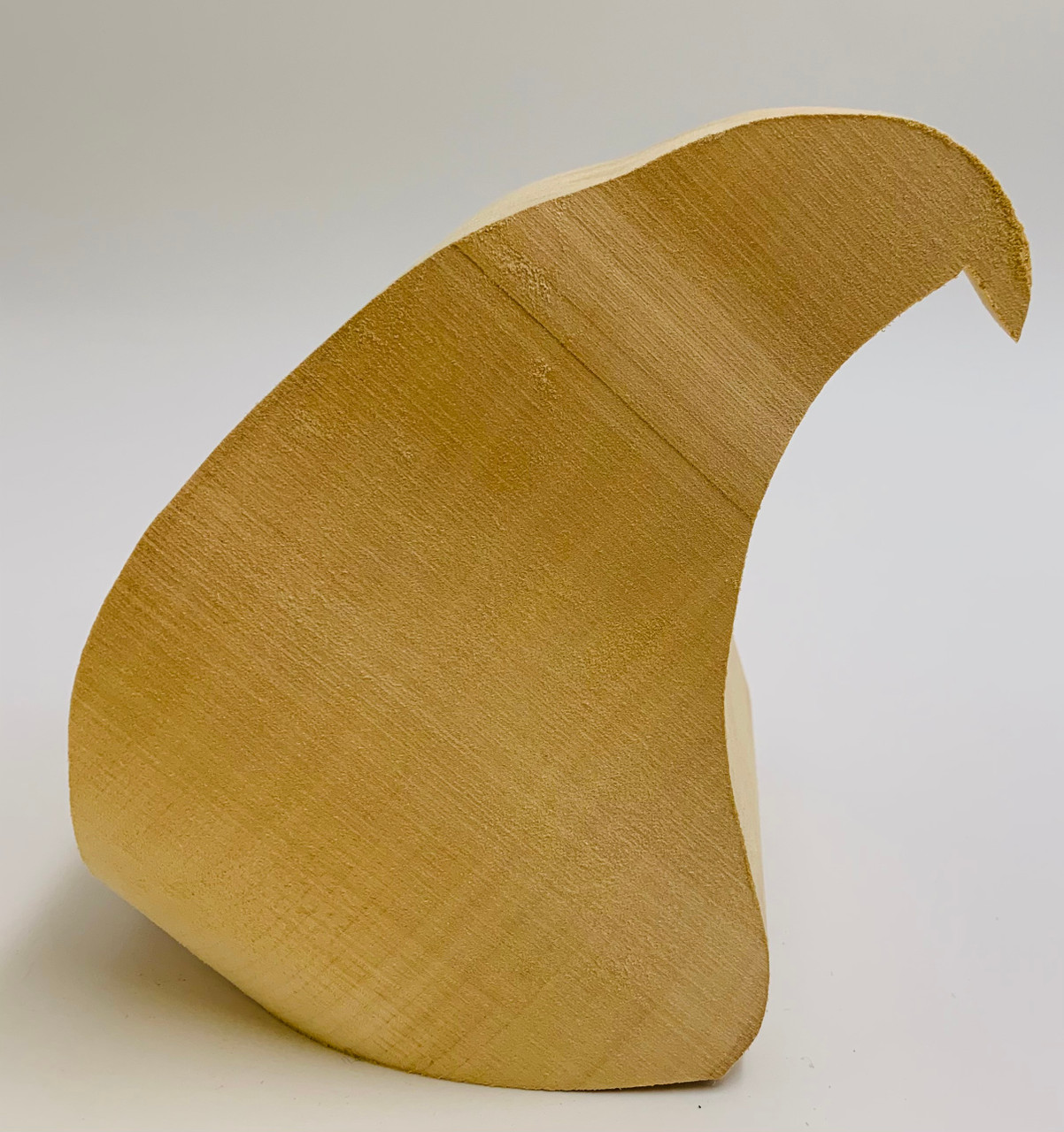 Eagle Head Basswood Cutout showing an image of the side profile.