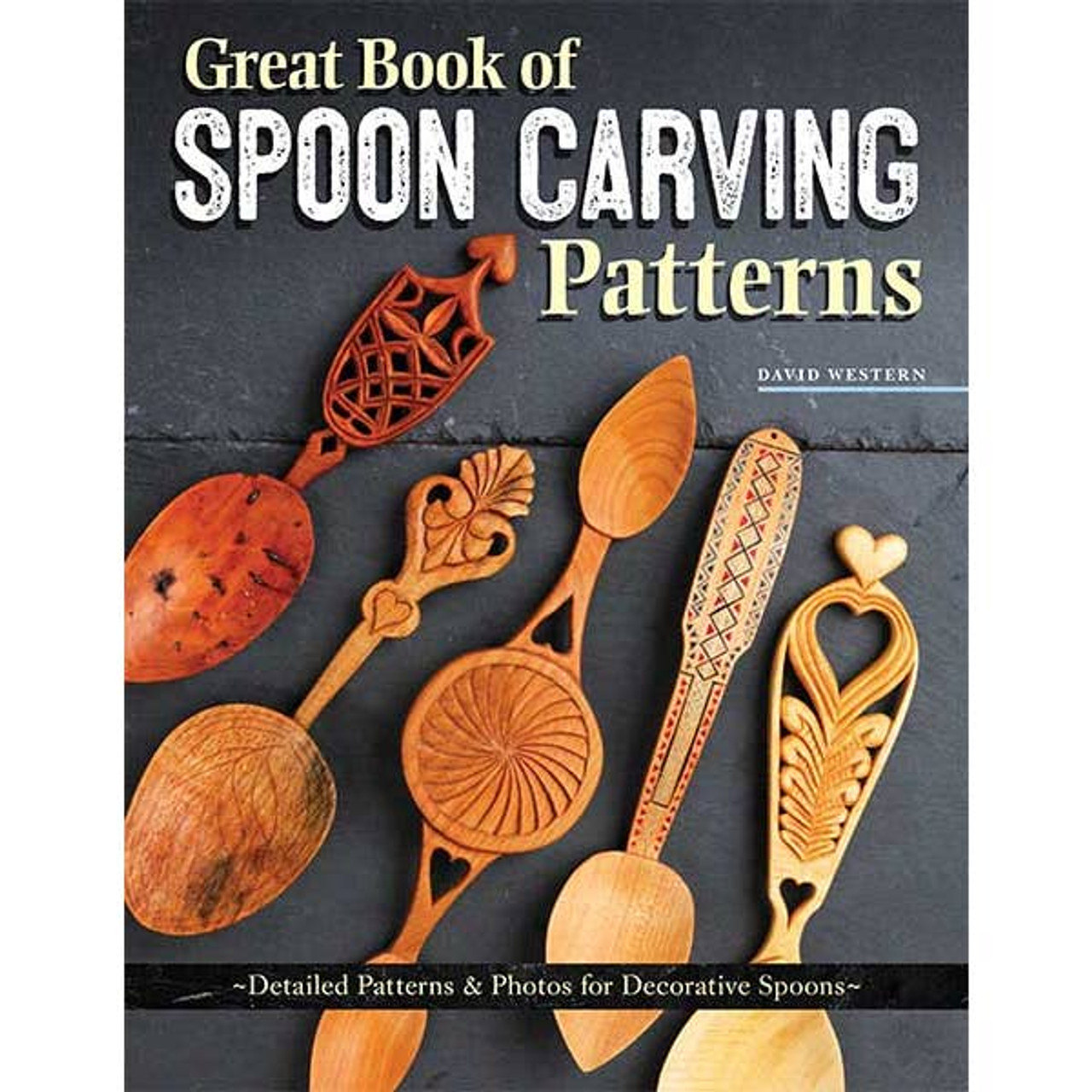 The Great Book of Spoon Carving Patterns