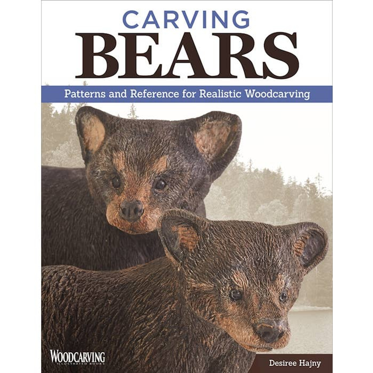 Carving Bears is packed with patterns and references for realistic woodcarving.