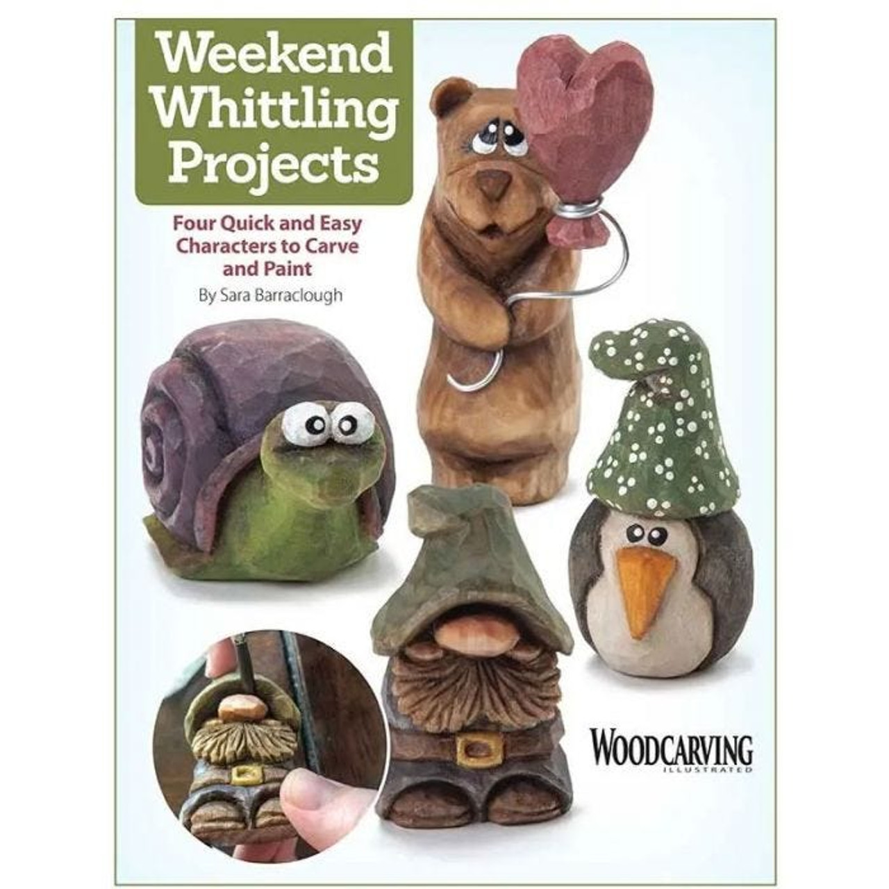 Weekend Whittling Projects is a fun beginner's carving book.