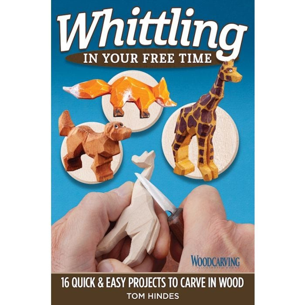 Whittling is fun and easy with a little help from Author Tom Hindes.