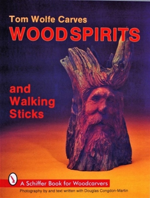 Tom Wolfe Carves Wood Spirits and Walking Sticks shows how to carve faces from driftwood and walking sticks.