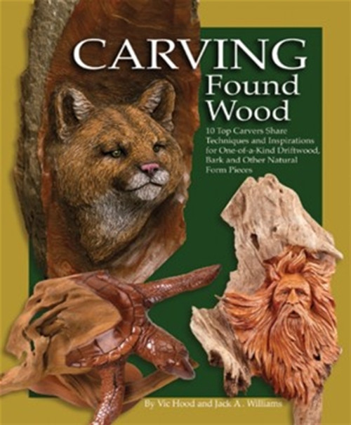 Cover of Carving Found Wood.
