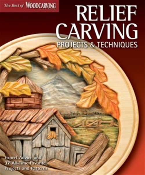 Relief Carving Projects & Techniques with 144 pages of relief carving projects and patterns.