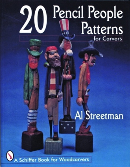 20 Pencil People Patterns for Carvers