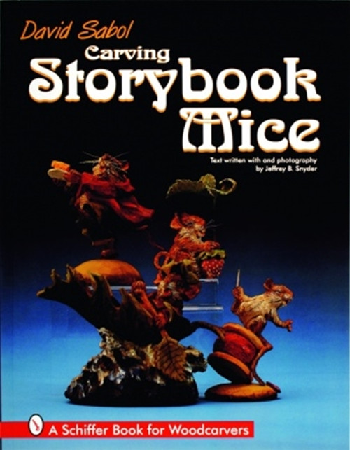 Carving Storybook Mice showing three mice in different positions.