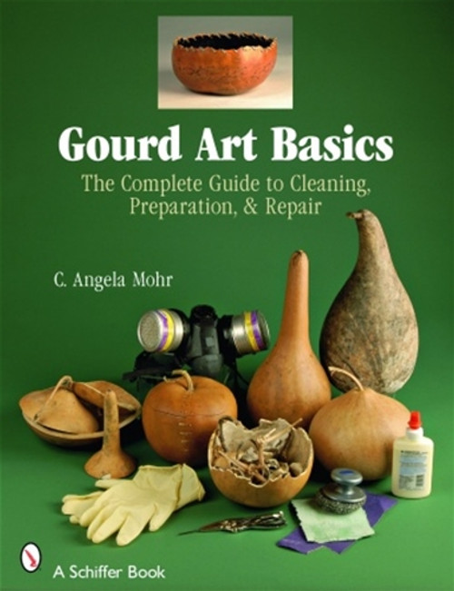 Gourd Art Basic shows the reader the complete guide to cleaning, preparation, and repair.