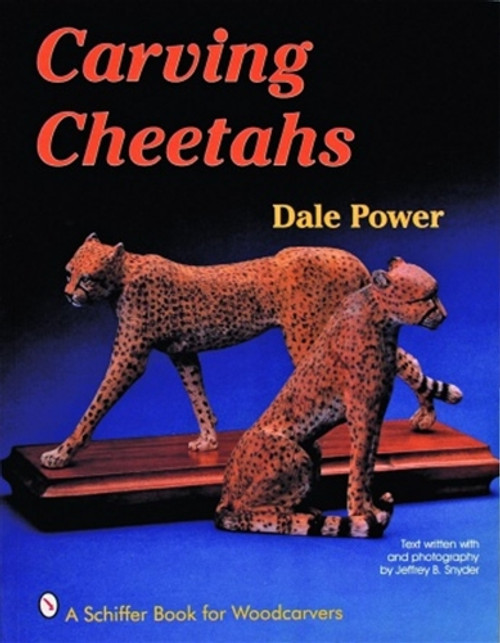 Carving Cheetahs showing two Cheetahs on the cover of the book.