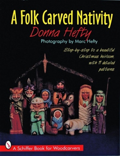 A Folk Carved Nativity