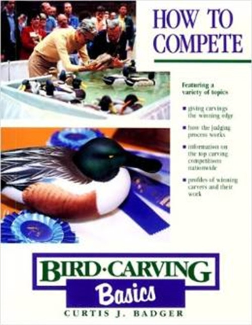 Cover of How to Compete: Bird Carving Basics.