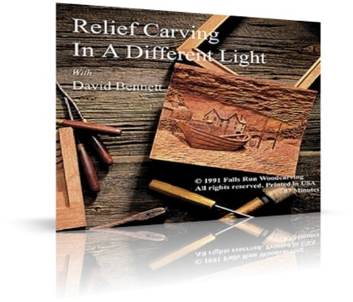Relief Carving in a Different Light DVD for the  Beginners to follow along as David demonstrates the complete process from start to finish.