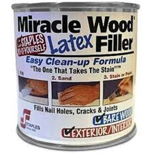 Miracle Wood 8oz. shown in the original container.