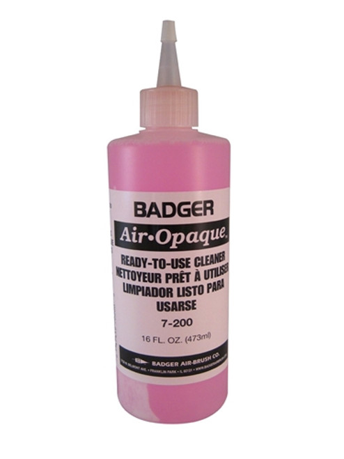 Badger Air Opaque Cleaner.