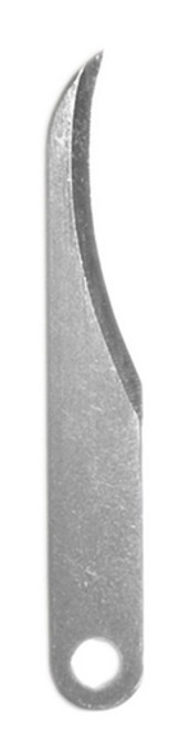 The Excel #103 Concave blade is  used for carving and whittling wood, linoleum, and plastic.