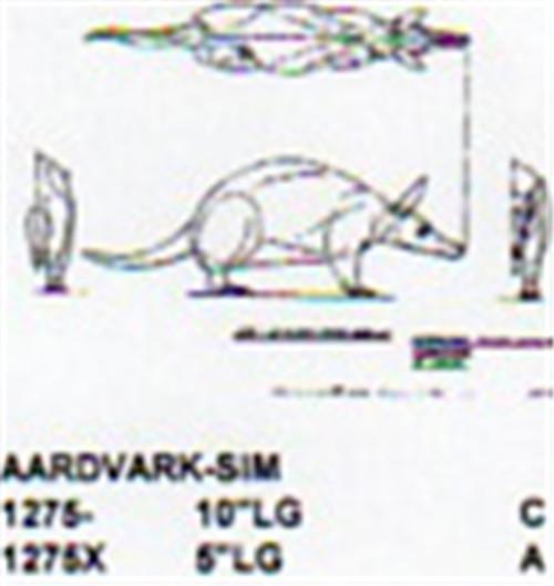 """Aardvark Standing 5"""" Long"""