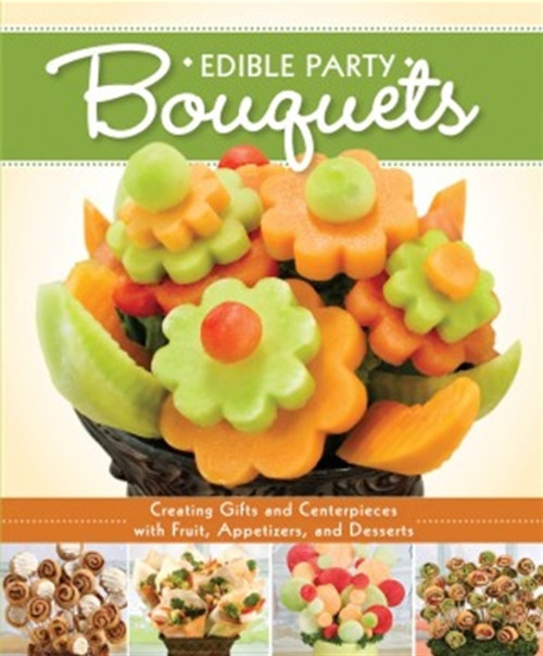 This is an amazing book with a massive amount of information on creating party bouquets, not only with fruits and desserts but also includes meats and cheeses.