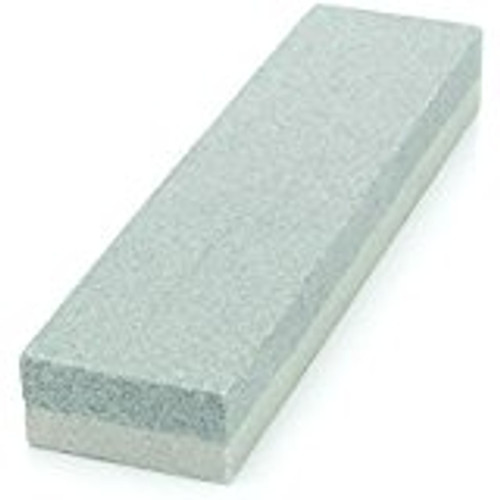 "8"" Double Grit Sharpening Oil Stone showing both sides of stone."