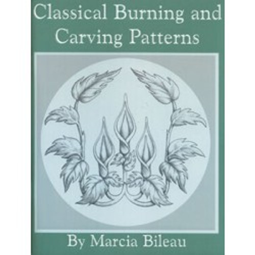 Classical Burning and Carving Patterns contains  an image of flowers on a vine.