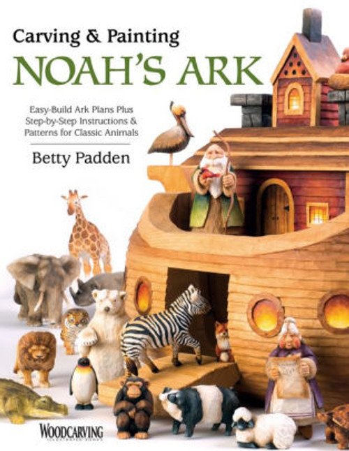 Carving & Painting Noah's Ark contains images of wood carved Noah the Ark, and a variety of animals.