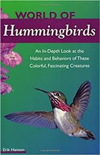 World of Hummingbirds contains images of a Hummingbird in flight by a flower.