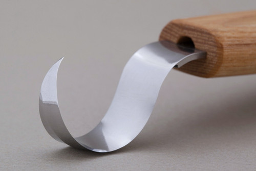 This is a blade profile of the Beaver Craft 25mm Spoon Carving Knife.