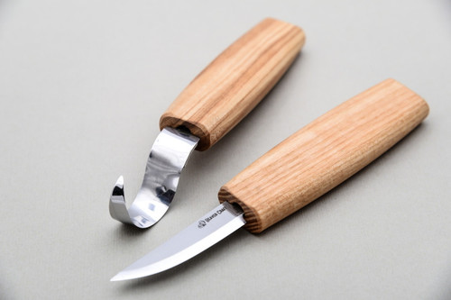 Beaver Craft Spoon Carving Tool Set shown from top profile.