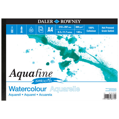 Aquafine Watercolour Paper Hot Pressed