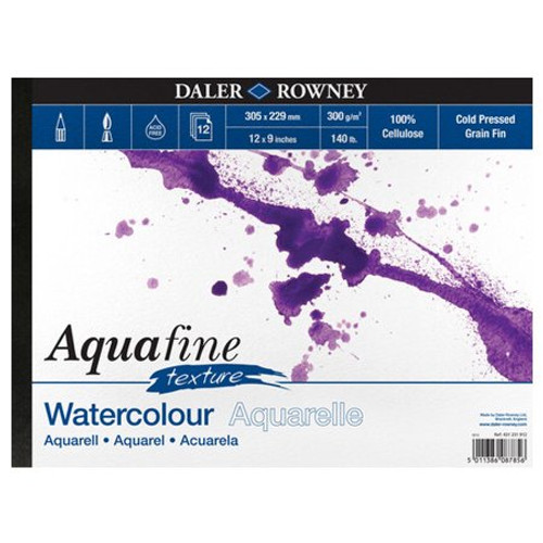 Aquafine Watercolour Paper Cold Pressed.