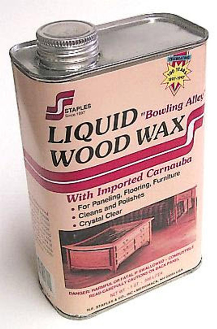 Clear Liquid Wax Quart