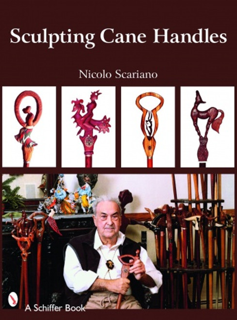 Sculpting Cane Handles with Nick Scariano showing the different cane handles you can make.