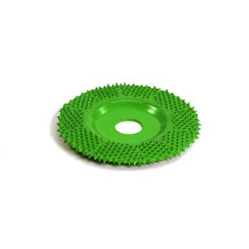 Saburrtooth 2 X 3/8 Flat Grooving Wheel  (Coarse)Green .