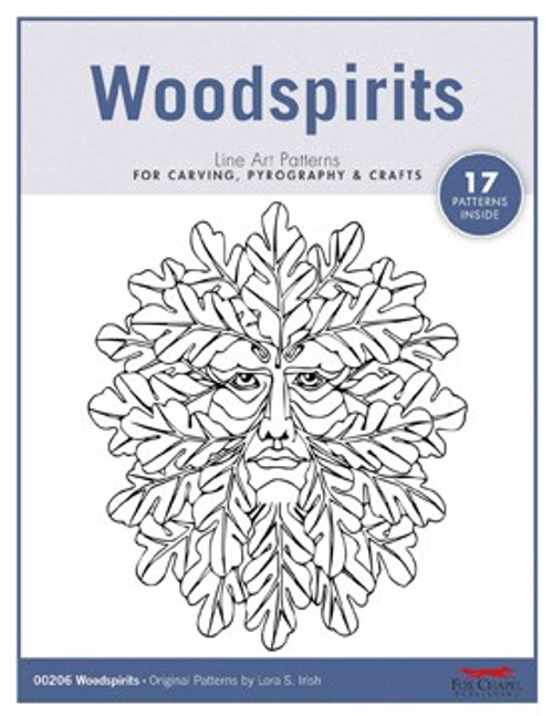 Woodspirits line art patterns.