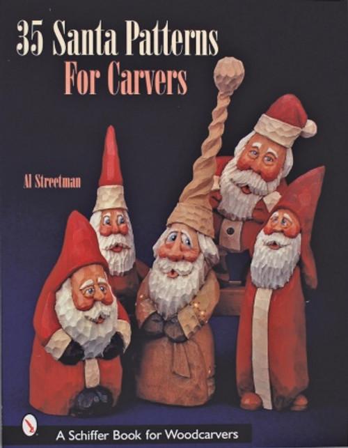 35 Santa Patterns for Carvers