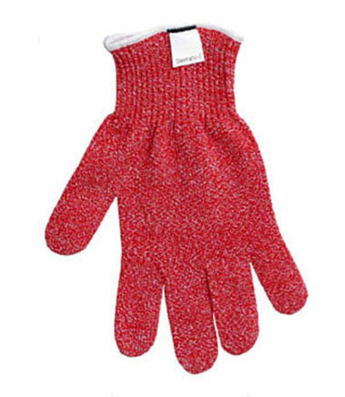 Big Red Cut Resistant glove.