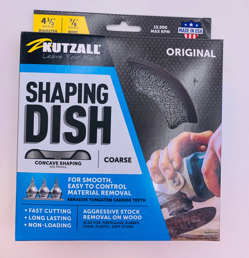 Kutzall 4 1/2 Dish Wheel Coarse