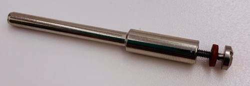 Mandrel Screw Type with 1/8 shank fits 1/16 Arbor M-15 showing an image of the mandrel with the screw head.