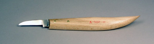 Solingen #58 Carving Knife displaying the blade and handle.