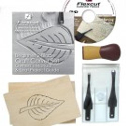 Flexcut Beginner 2 Blade Craft Carver Set