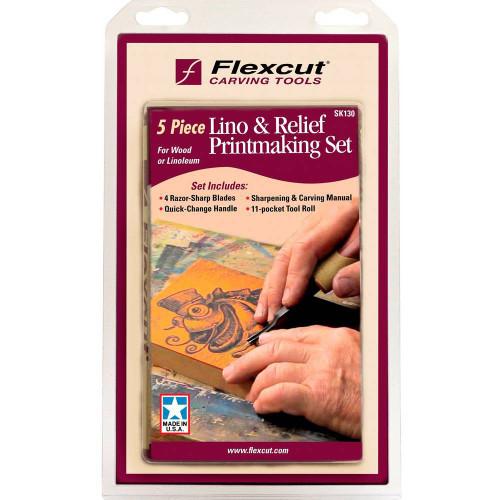 Flexcut Lino & Relief Printmaking Set in the original package.
