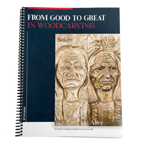 From Good to Great WoodCarving cover of the book by Vic Hood.