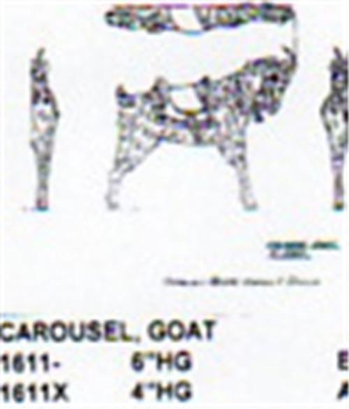 "Carousel Goat 4"" Tall"