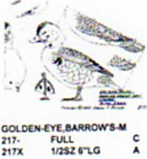 Barrows Golden Eye Standing