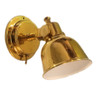 Brass look Titanium Nitride Classic  LED Bulkhead Reading Light