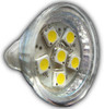 6-LED MR11 Bulb - Power Cluster (MR11-06)